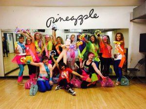 Pineapple 80s Dance Class