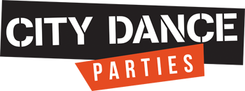 City Dance Parties Retina Logo