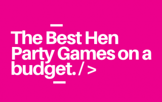 Hen Party Games on a budget