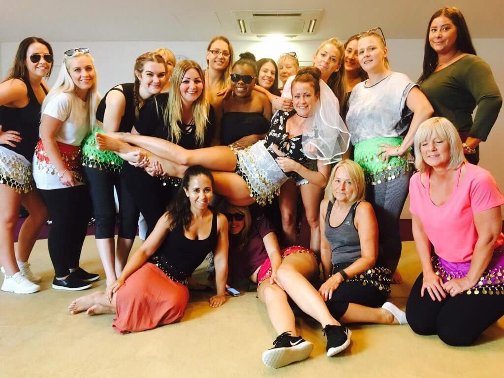 Bollywood hen party dance class