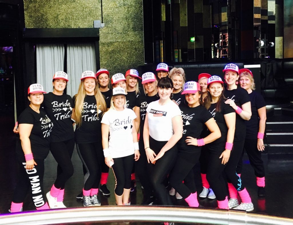 hen party dance class in london