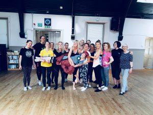 Edinburgh Hen Party Dance Class