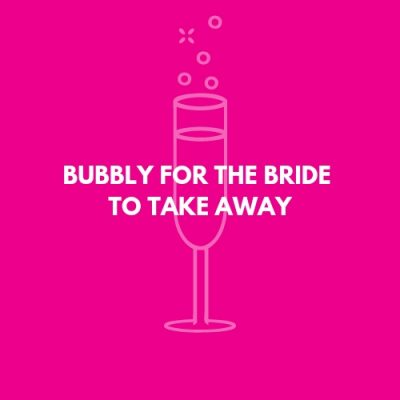 bubbly for the bride
