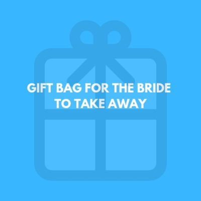gift bag for the bride