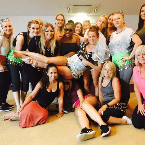belly dance hen party