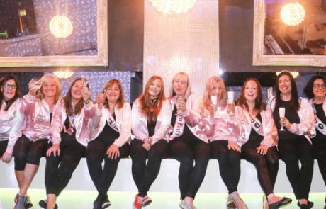 Grease Hen Dance Class