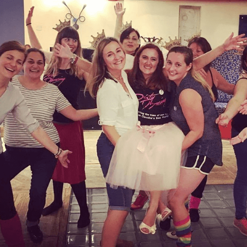 Strictly Come Dancing Hen Party Dance Class