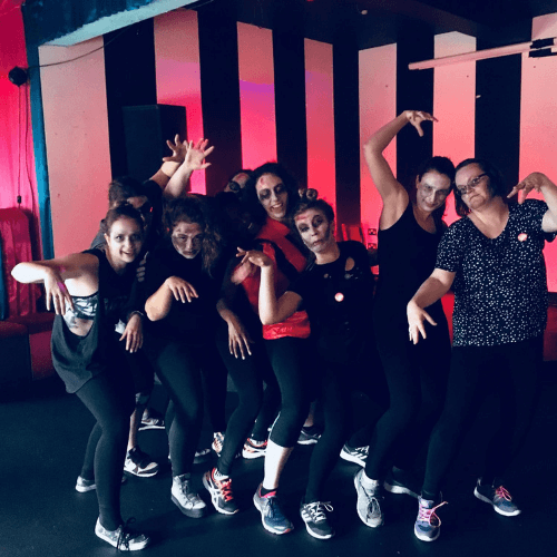 Thriller Hen Party Dance Class