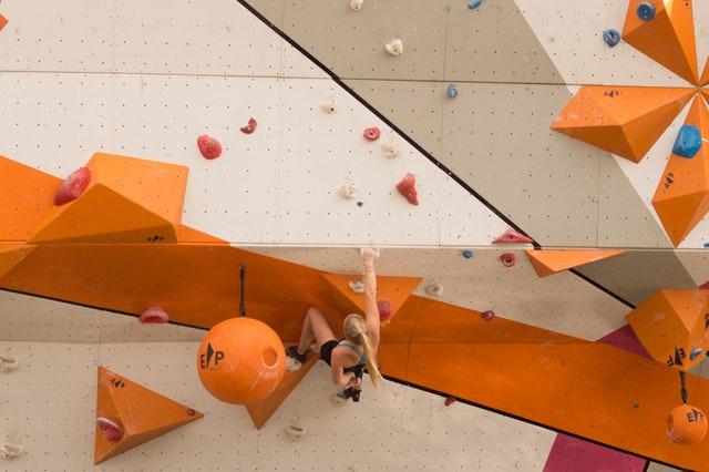 climbing wall in leeds